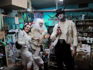 Krampus costumes 2012