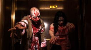 Kombucha Town zombie shoot